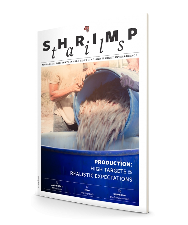Shrimp Tails,  the first and only shrimp industry magazine