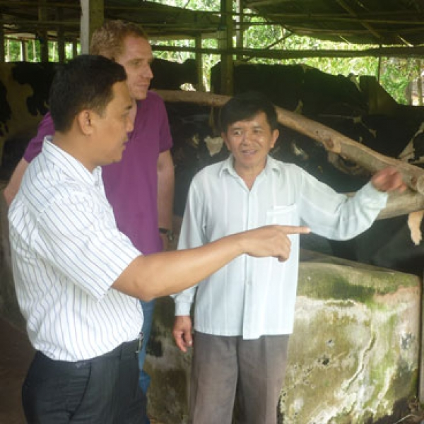 Development of dairy farm monitoring system
