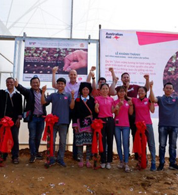 Vietnam: Newly opened greenhouse in Son La is 'part of something bigger'